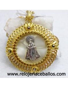 Medalla de Covadonga plata chapada R656