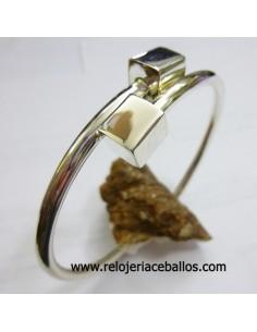 Brazalete de plata articulado ref 361-254