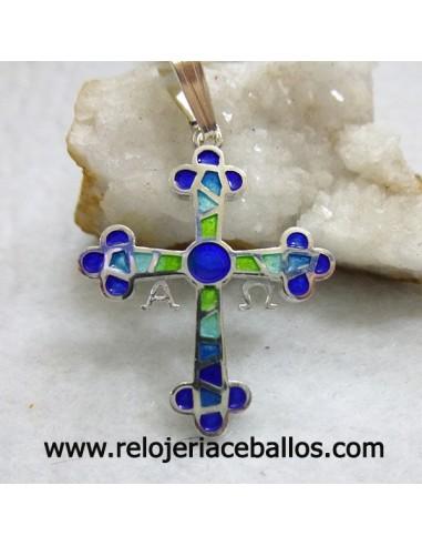 Cruz de la Victoria Esmaltada Azul R571A