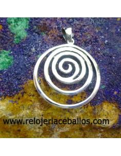 Espiral celta colgante ref 103-0002