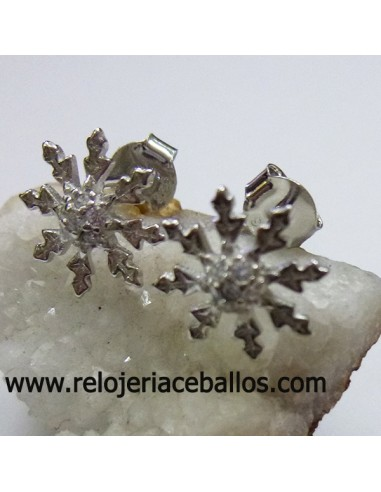 Flor Solar pendiente de plata ALC9
