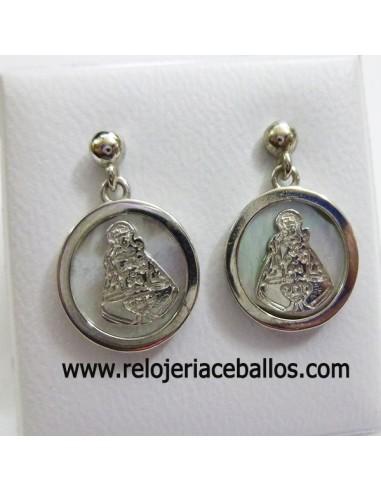Pendiente con Medalla Covadonga 8574