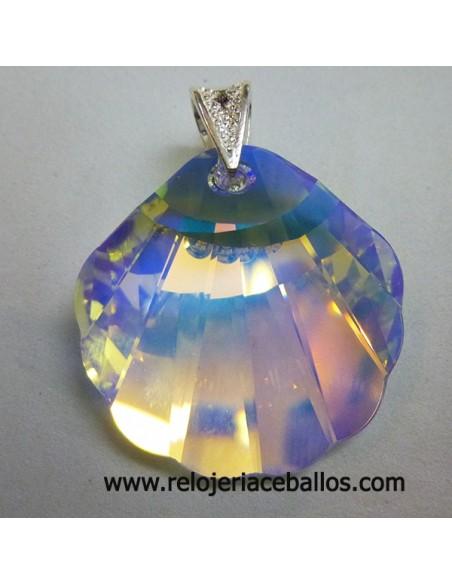 Concha en cristal Swarovski ref SWCG