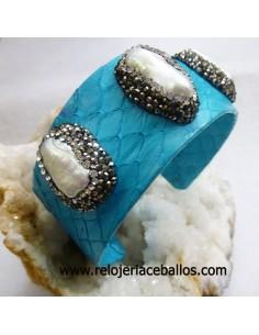 Brazalete con perlas cultivadas PTUR
