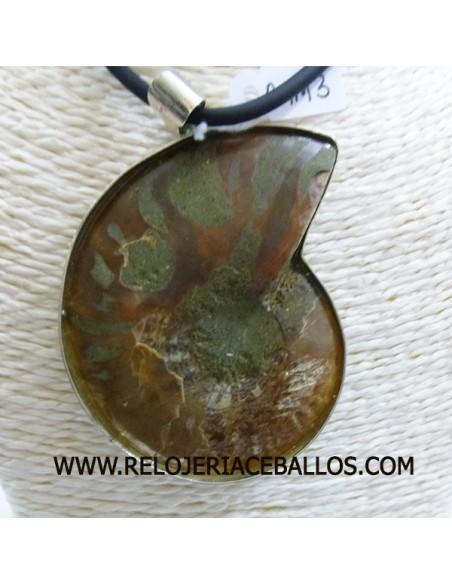 Ammonite  colgante de plata AMM3
