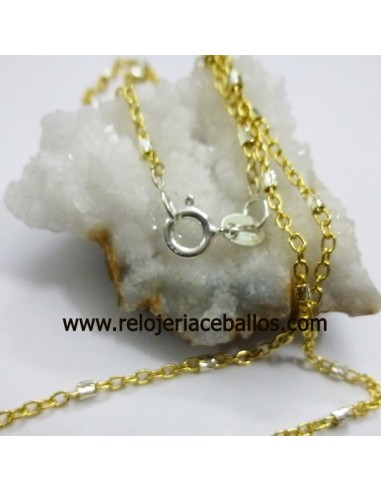Cadena de plata chapada RLCH45