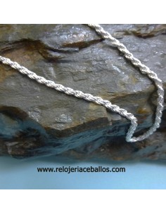 Cordón de plata de ley ref RD60