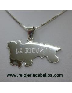 Mapa de La Rioja ref RIOJA