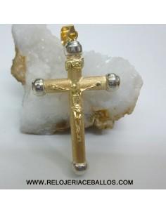 Cruz de Oro de ley 1u34