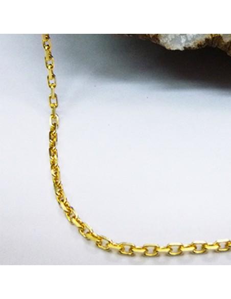Cadena de oro forzada ref T50