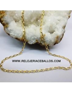 Cadena de oro ref T86