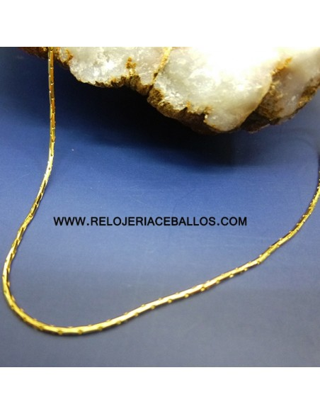 Cadena fina de oro amarillo ref T45