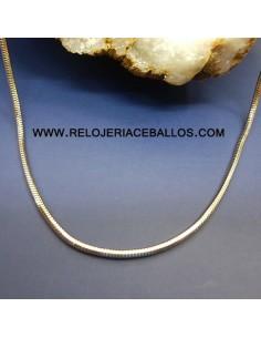 Cordón de oro blanco ref T47
