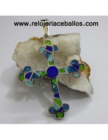 Cruz de la Victoria  de plata con esmalte R572A