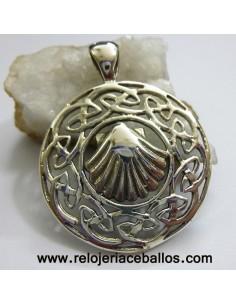 Concha de Santiago de plata 101-27