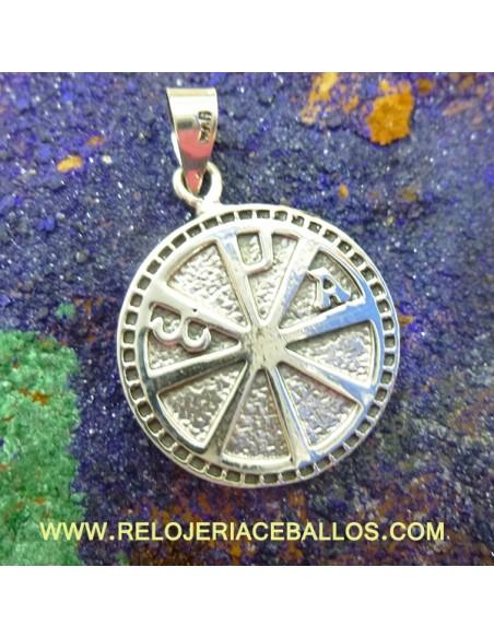 Crismón colgante cruz 102-0165