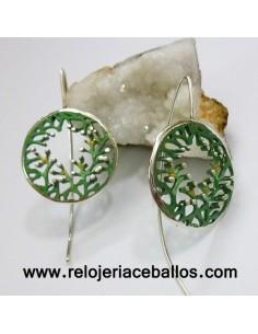 Pendientes Orfega de plata 0112204GP-3
