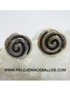 Pendientes celtas con espiral  106-0035
