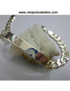 Pulsera esclava  plata  41950