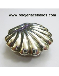 Pastillero Concha de Santiago de plata 1M29C