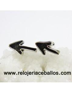 Pendiente Flecha del Camino de Santiago de plata 124-0016