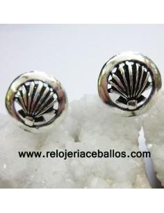 Pendiente Concha de plata 121-0132