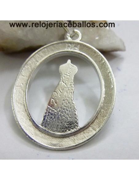 Medalla de Fátima de plata  FA027V