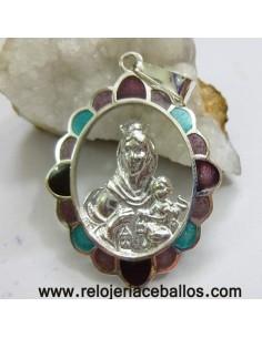 Medalla del Carmen de plata y esmalte RM150205