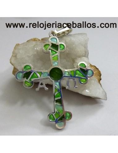 Cruz de la Victoria  de plata con esmalte R572V