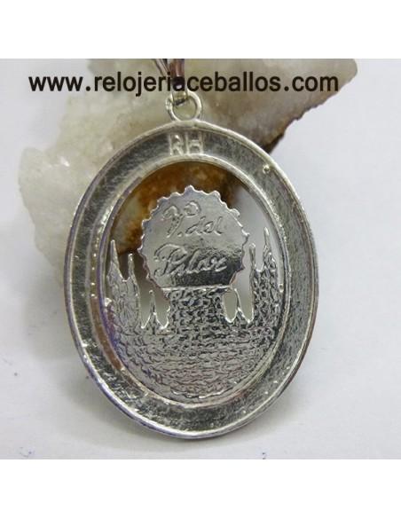 Medalla del Pilar de plata de ley y esmalte VPI11