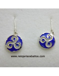 Celtic earrings with trisquel  EF110P