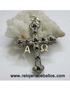 Cruz de la Victoria con plata y piedras 45171