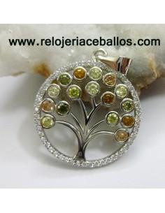 Colgante Árbol de la vida de plata 16272