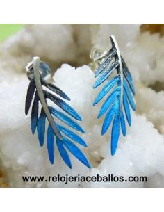 Pendiente Ramas Azul Orfega 112275PPS