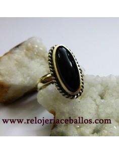 Azabache asturiano anillo...