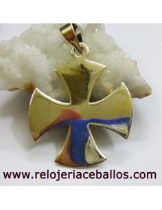 Cruz de Malta en plata CRM7