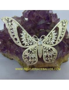 Mariposa Broche de plata...