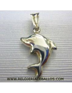 Delfín Colgante de plata D32