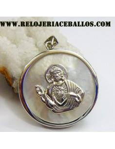 Medalla Sagrado Corazón con...