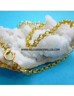Cadena de Rolo de Goldfilled 14 k.