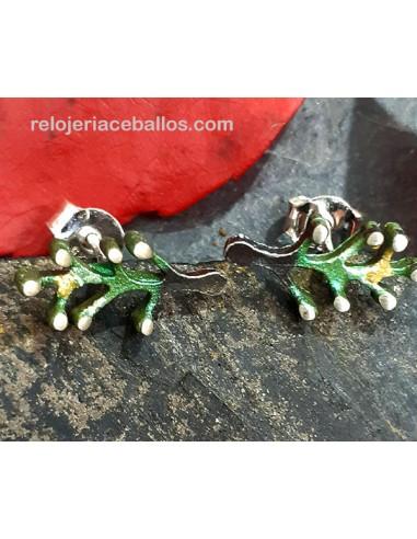 Pendiente Orfega Mini colección Brotes Verdes