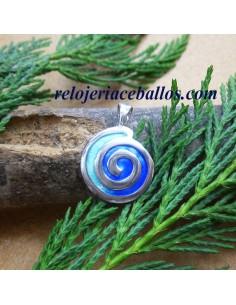 Colgante Espiral celta...