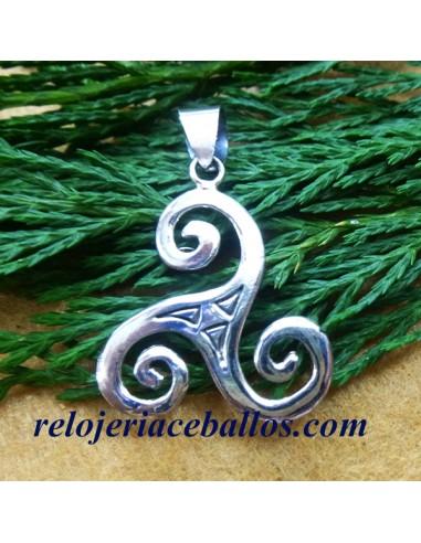 Triskel Colgante de Plata 106-0087