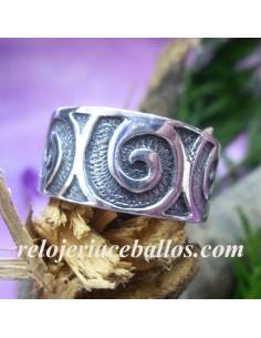 Anillo Celta con Espiral 143-0005