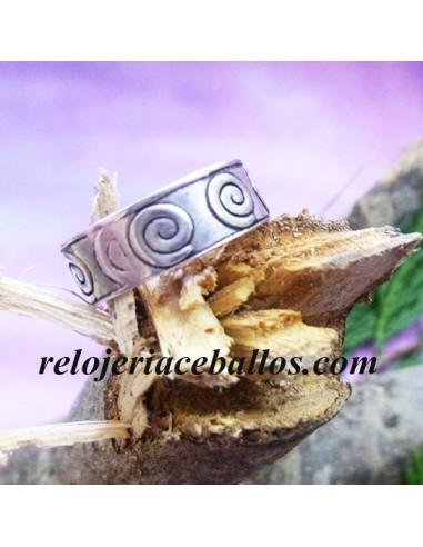 Anillo Celta con Espiral 143-01
