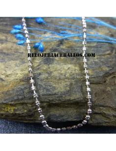 Cadena de Bolitas Diamantada 711A20/45