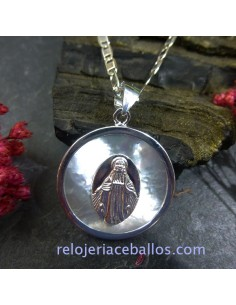 Milagrosa Virgen en Plata VMP