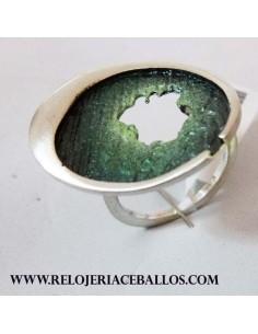 Joyas Orfega Anillo Ocaso Verde 113257-3