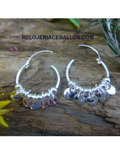 Aretes Juveniles con Lentejuelas 9345
