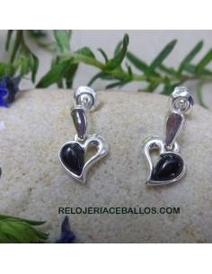 Corazón de Azabache Pendientes CR2